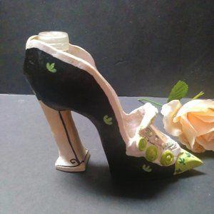 Wendy Costa Shoe/Bud Vase Sculpture